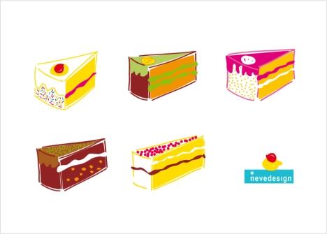 "Illustration: ""Cakes""/ Torte"
