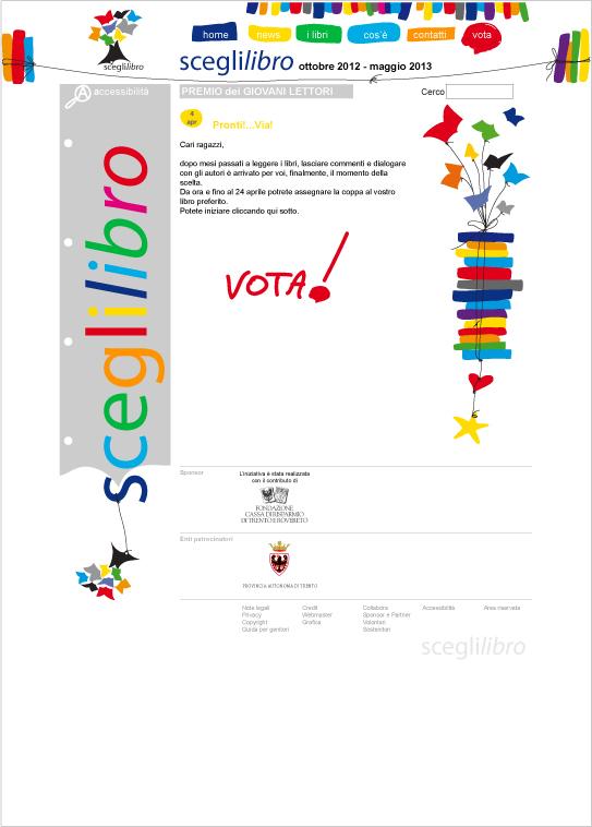 Home Page Sceglilibro.it 2014
