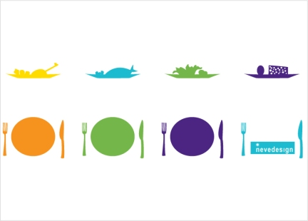 "Illustration: ""Various dishes""/ Piatti vari"