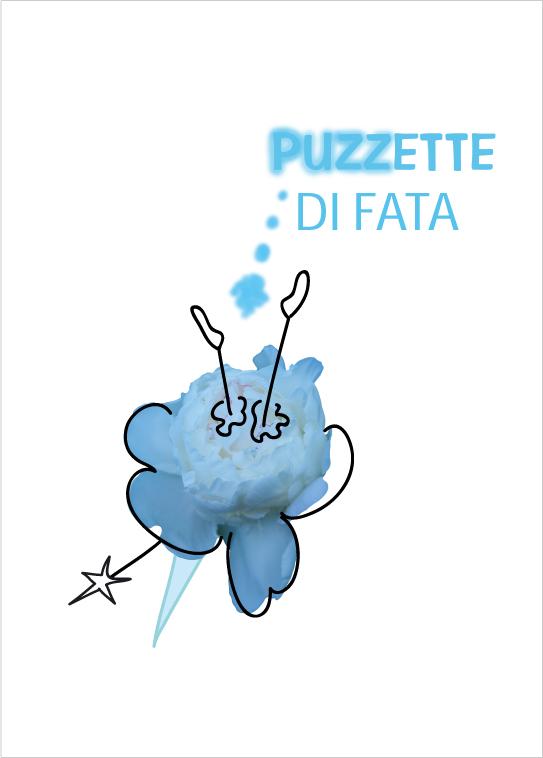 """""""Puzzette di fata"""", cover, illustrazione di Paola Gregoretti"""